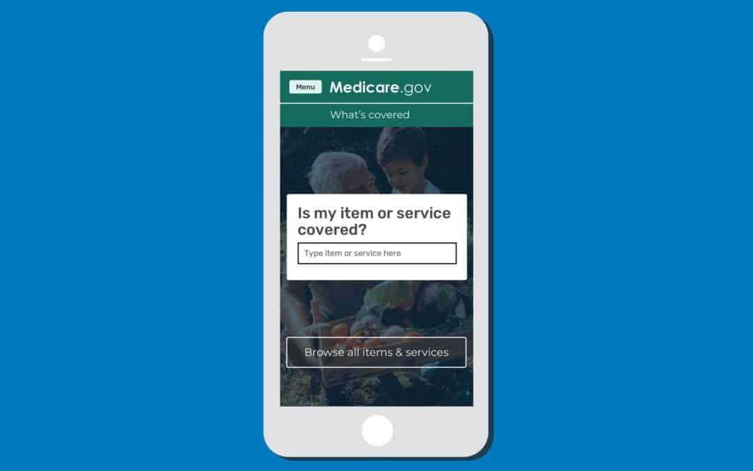 "Get Medicare's new ""What's covered"" app!"